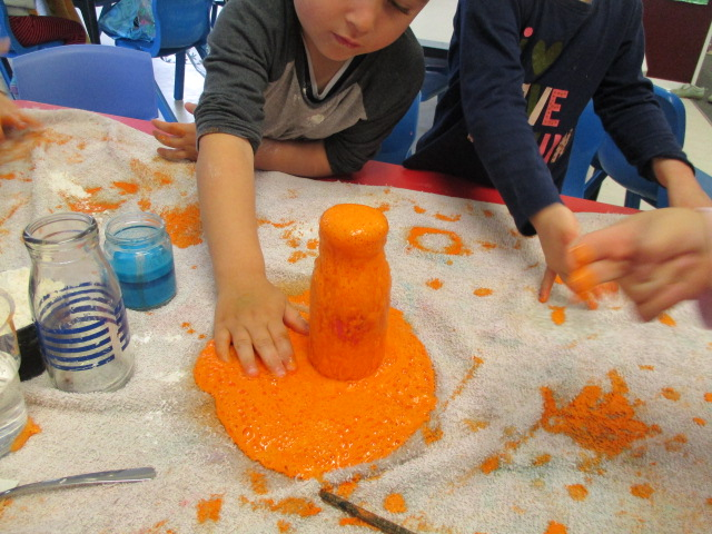 Exploring mixtures, textures and eruptions