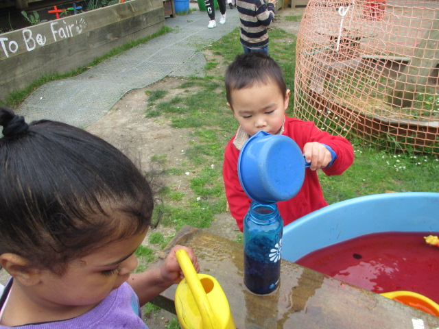 Water Exploration – Pouring and Scooping